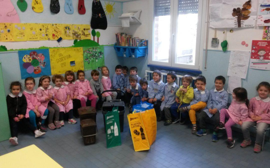 """Al via i laboratori didattici """"Raccolta porta a porta dei rifiuti urbani"""" nelle scuole del Comune di Cesena"""