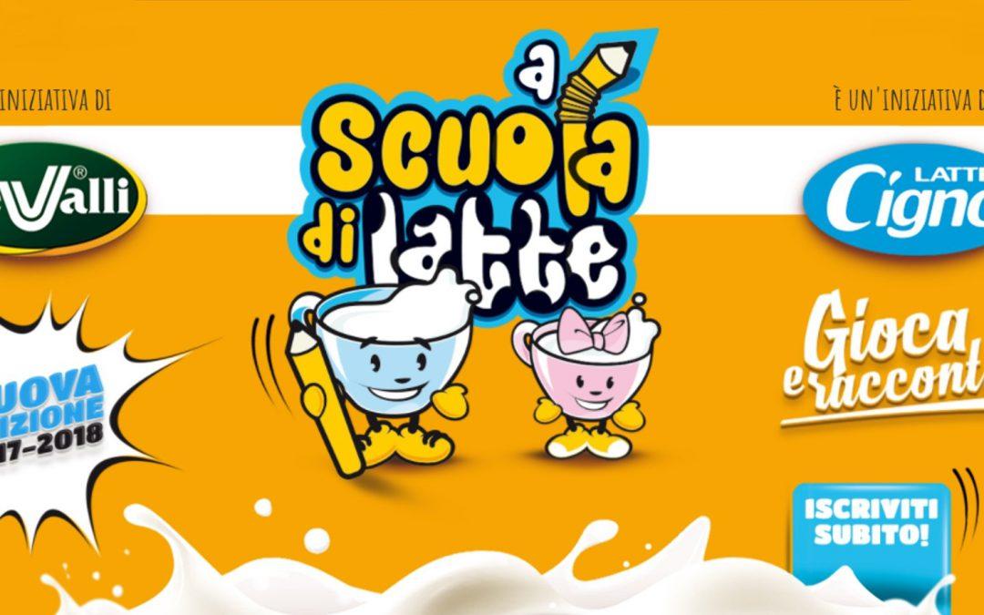 """""""A Scuola di Latte – gioca e racconta"""" torna il progetto per le scuole primarie di Marche e Abruzzo"""